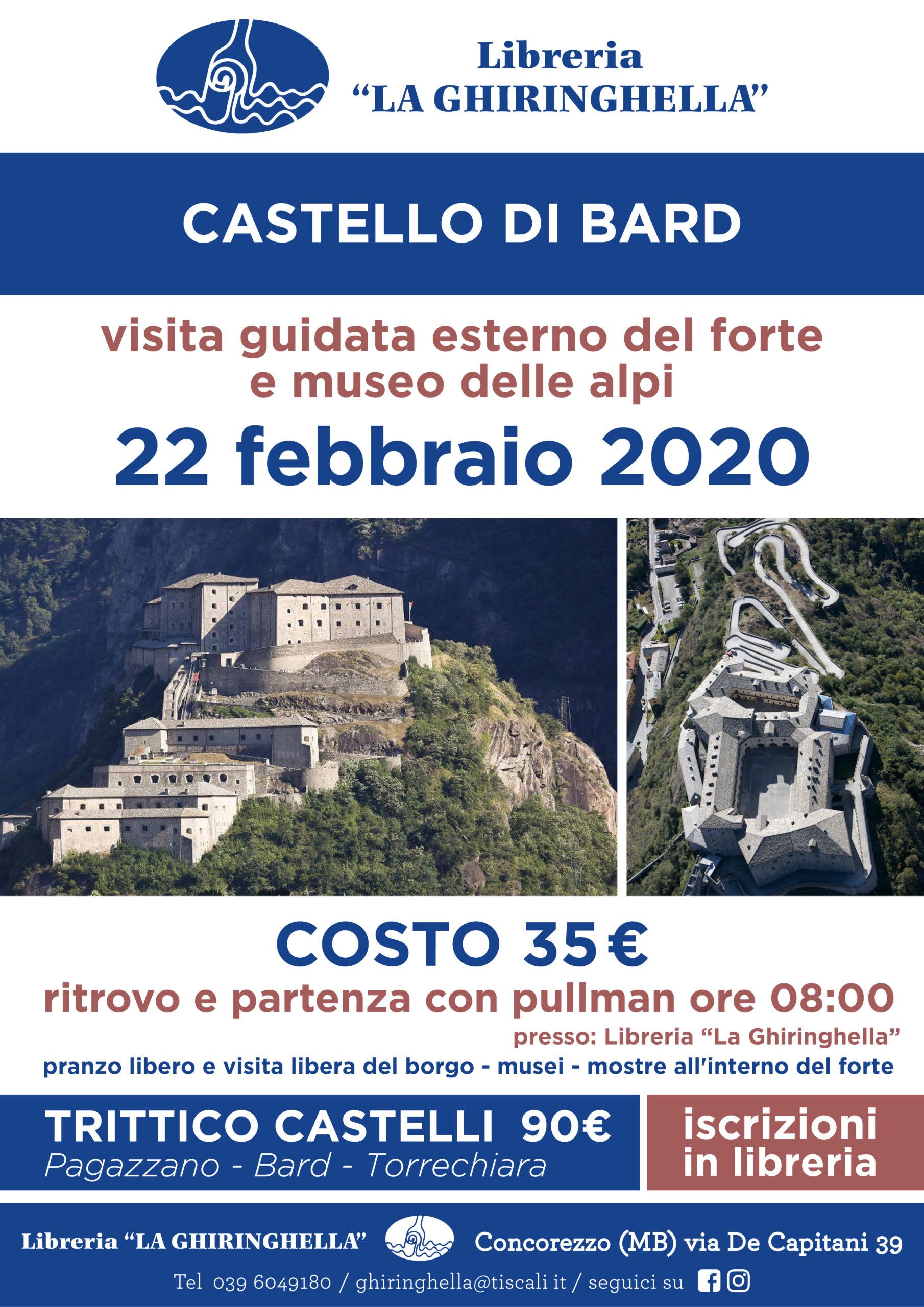Gita al Castello di Bard
